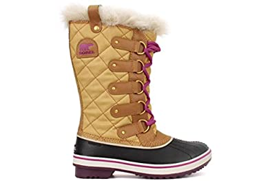 SOREL Women's Tofino Winter Boot (Curry/Red Plum 5.0 M)