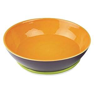 OmniWare OmniWare Hemisphere Round Serving Bowl - /Green, Purple, Ceramic