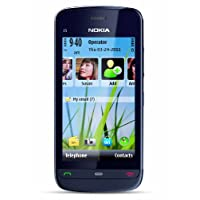 Nokia C5-04 Unlocked GSM Phone with 5 MP Camera and Ovi Maps Navigation Optimized for T-Mobile--U.S. Version with Warranty (Graphite Black)