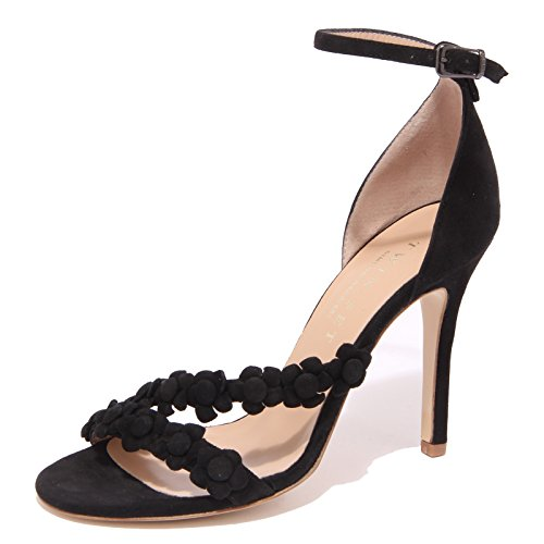 1024Q sandalo TWIN-SET SIMONA BARBIERI nero scarpa donna shoe woman [40]