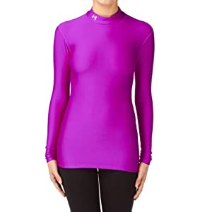 Under Armour Cold Gear Compression Mock Neck Base Layer - Srb