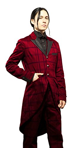 Lip-Service-Mens-Tailored-Tuxedo-Gothic-Victorian-Steampunk-Tail-Coat