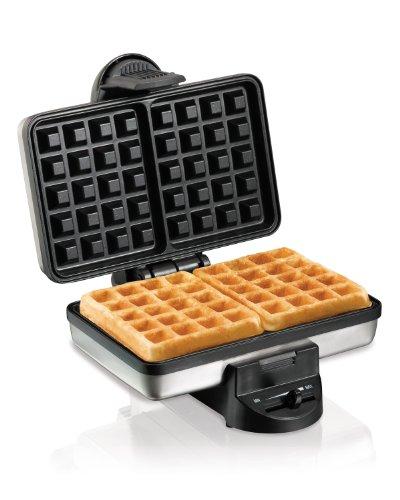 Best Price! Hamilton Beach 26009 Belgian Style Waffle Baker