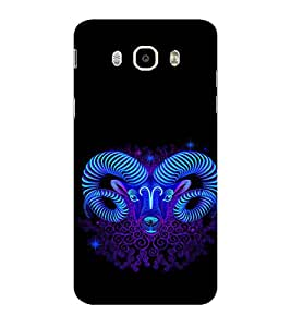 ifasho zodiac sign capricorn Back Case Cover for Samsung Galaxy On8