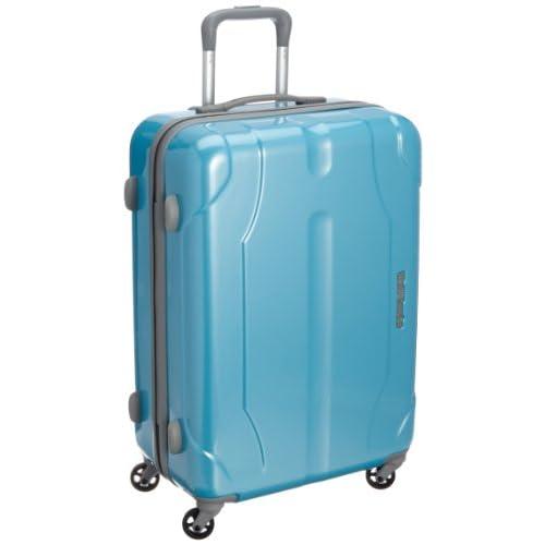 [ワールドトラベラー] World Traveler プレオン キャスターストッパー付 スーツケース 60cm・55リットル・3.6kg・ACE製 05907 15 (ライトブルーカーボン)