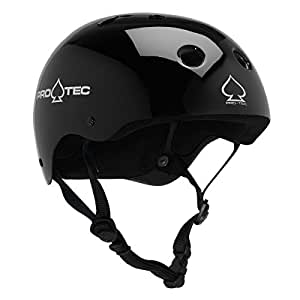 PROTEC Original Classic Skate Helmet, Gloss Black, X-Small