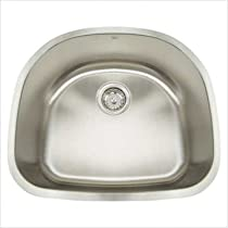 "Big Sale Best Cheap Deals Premium Series 23.5"" x 21"" Undermount Single Bowl Kitchen Sink"