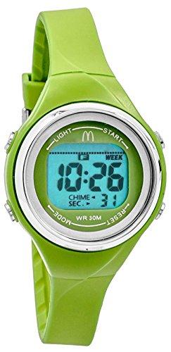mcdonald-femme-sportech-vert-citron-bain-fin-bande-resistant-a-leau-sport-montre-mdw10711