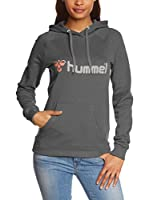 Hummel Sudadera con Capucha Classic Bee (Gris Oscuro)