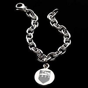 Penn State Sterling Silver Charm Bracelet by M.LaHart & Co.