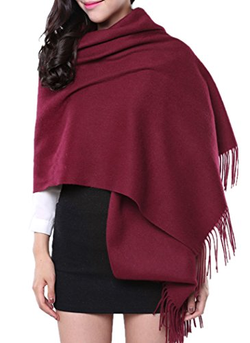 "Novawo Extra Large 78""X27"" Soft Cashmere Scarf Shawl Wrap For Men Women(8 Colors)"