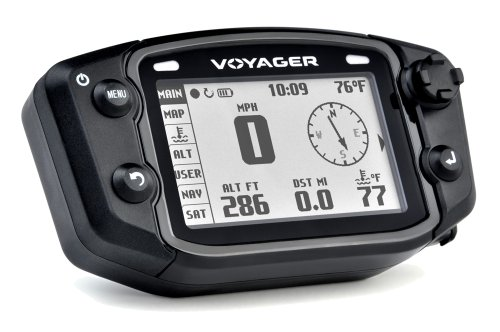Trail Tech 912-405 Voyager Stealth Black Moto-GPS Computer