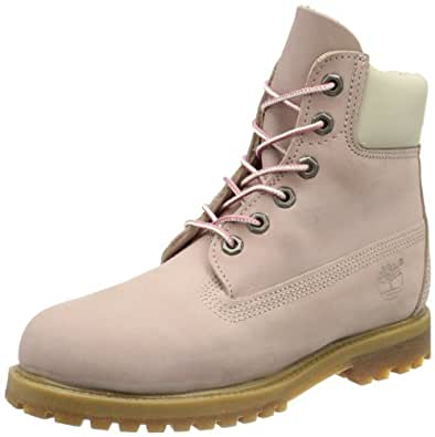 Timberland  6 in Premium FTB_6in Premium Boot - W, bottines classiques femme - Rose - Pink (Light Pink), 42 EU