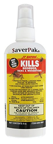 Kills Bed bugs Permethrin Clothing & Gear Treatment Pump Spray