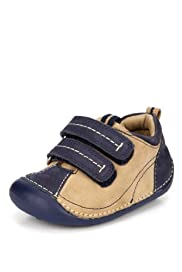 Walkmates Suede Riptape Shoes [T72-9539-S]