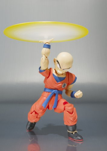 Dragon Ball Z: Krillin S.H. Figuarts Action Figure Bandai - Destructo Disk – Also known as Kienzan, is an attack invented by Krillin