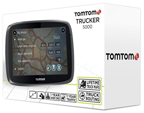 tomtom gps camion trucker 5000 5 pouces europe 48 cartographie vie les. Black Bedroom Furniture Sets. Home Design Ideas