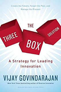Book Cover: The Three Box Solution: A Strategy for Leading Innovation