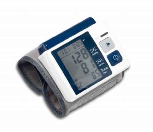 Cheap Syba SY-ACC62006 Lightweight Palm Size Wrist Blood Pressure Monitor for Home and On the Road Use (SY-ACC62006)