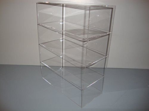 Acrylic Lucite Countertop Display Case Showcase Box Cabinet 12