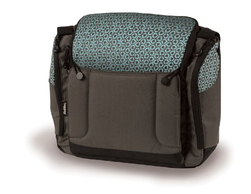 Hoppop Changing Bag Original with Booster Seat Choco Bloom