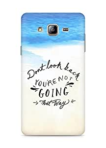 AMEZ dont look back you are not going that way Back Cover For Samsung Galaxy ON5