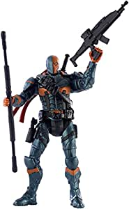 "Mattel DC Comics Multiverse Batman Arkham Origins Deathstroke 4"" Action Figure"