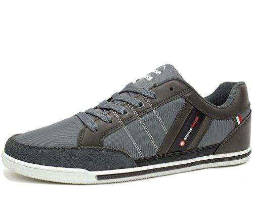 alpine-swiss-mens-stefan-gray-suede-trim-retro-fashion-sneakers-9-m-us