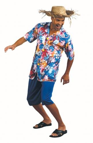 Value Costume: Tourist Hawaiian Shirt Man (Adult)