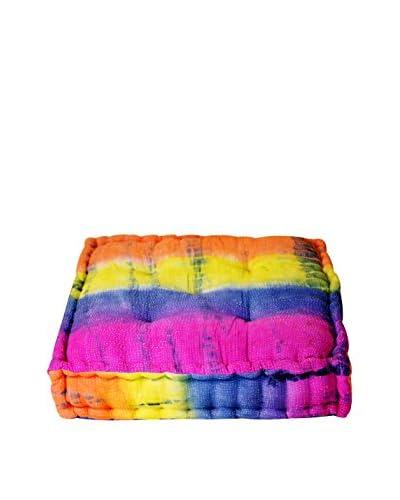 Tie-Dye Floor Cushion