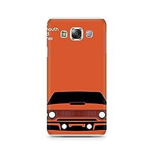 Ebby Orange Car Premium Printed Case For Samsung Grand 3 G7200