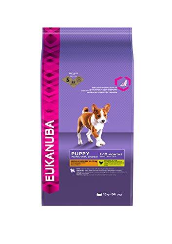 Eukanuba Puppy and Junior Medium Breed Dry Food 15 kg