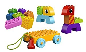 4 X LEGO DUPLO Creative Play Toddler Build and Pull Along 10554 from LEGO