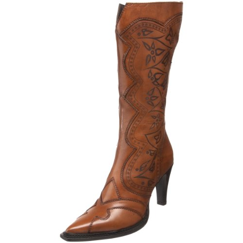 Luichiny Women's City Nights Knee-High Boot,Cognac,9 M US