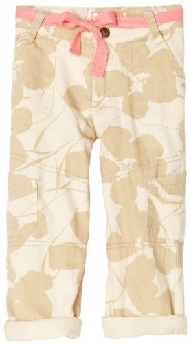 Roxy Girls 2-6x Teenie Wahine City Lights Cargo Pant,Safari Print,6x