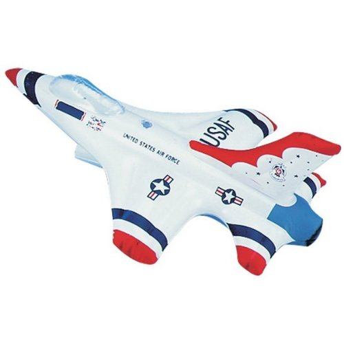 Inflatable Thunderbird Jet (Red/White/Blue) Party Accessory