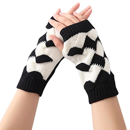hunpta-womens-winter-warm-knit-gloves-black