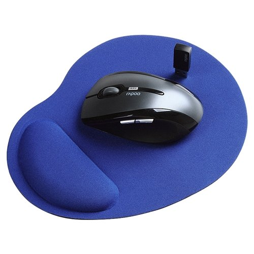 eForCity Wrist Comfort Mouse Pad For Optical / Trackball Mouse, Blue