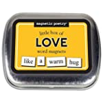 Little Box of Love Magnetic Poetry Word Magnets