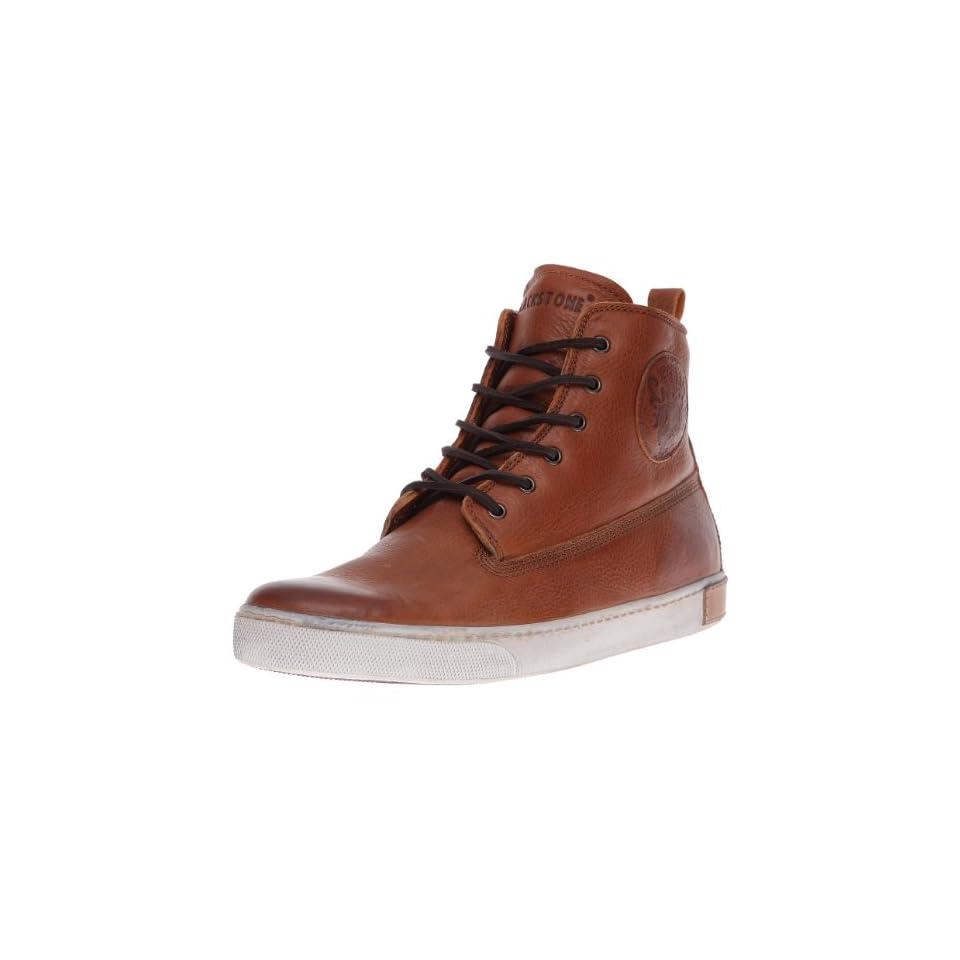 Blackstone Mens AM02 High Top Fashion Sneaker,Brandy,43 EU(10 10.5 M US)