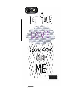 EPICCASE Rain on Me Mobile Back Case Cover For Xiaomi Redmi Mi4i (Designer Case)