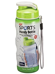 500ml Colour Sports Air Tight Handy Bottle with Carry Strap