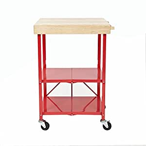 Origami Folding Kitchen Island Cart Reviews