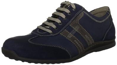 Camel active Kairo 17 1631701, Herren Schnürhalbschuhe, Blau (jeans/sand), EU 41 (UK 7.5) (US 8.5)