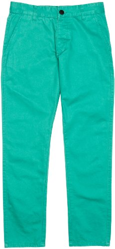 JACK & JONES Herren Chino Hose Bolton Edward Por. Green Akm Noos, Gr. W30/L34, Türkis (WASHED 001)
