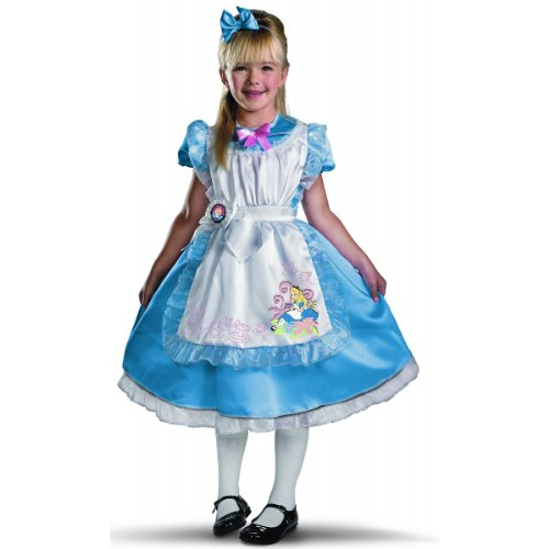 Deluxe Alice in Wonderland Costume - X-Small