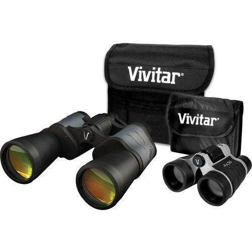 Vivitar Value Series 8X50 And 4X30 Binocular Set - Vivvs843