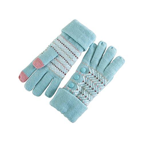xy-fancy-women-three-button-thickening-lengthening-touchscreen-glove-winter-warm-gloves-blue