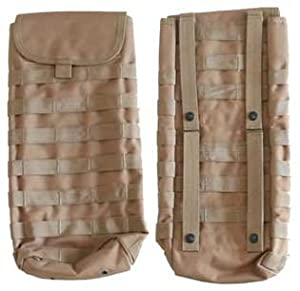 Molle HYDRATION CARRIER w 2.5L Bladder--TAN by Molle