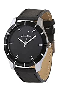 Timebre Men Royal Black Analog Watch